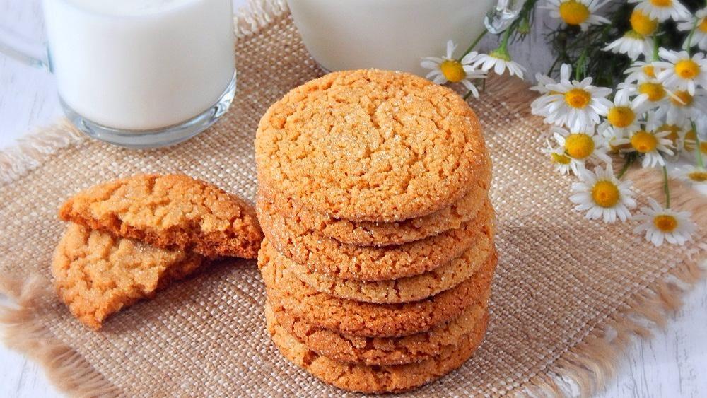 сахарное печенье с имбирем и медом