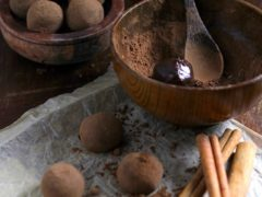 Рецепт конфет трюфель с корицей