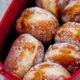 Пончики с карамельной начинкой