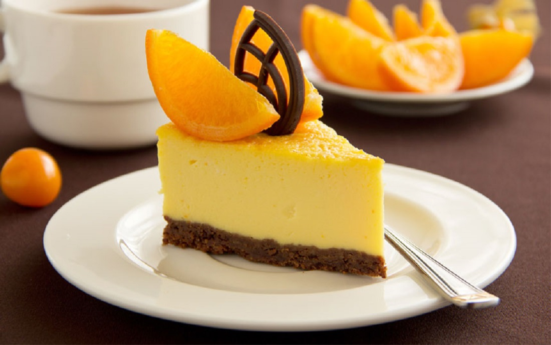 Чизкейк «Апельсиновый рай»