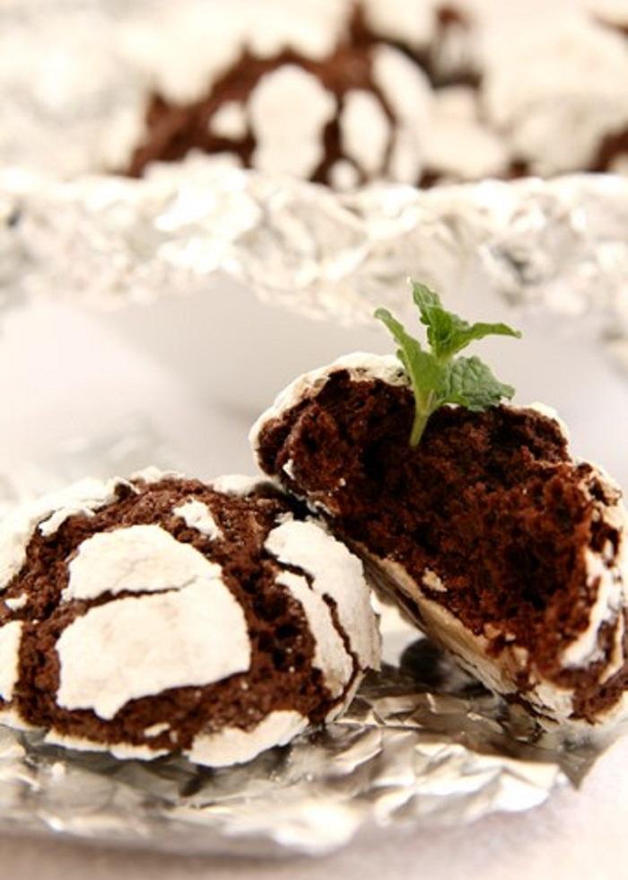Рецепт шоколадного печенья «Апельсиновый трюфель»