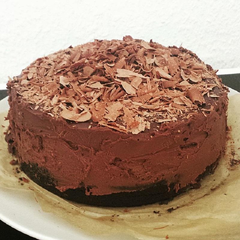 Рецепт шоколадного чизкейка с печеньем орео