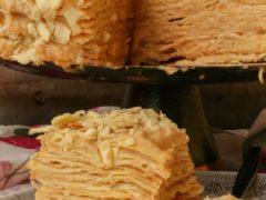 Торт Наполеон с заварным кремом рецепт
