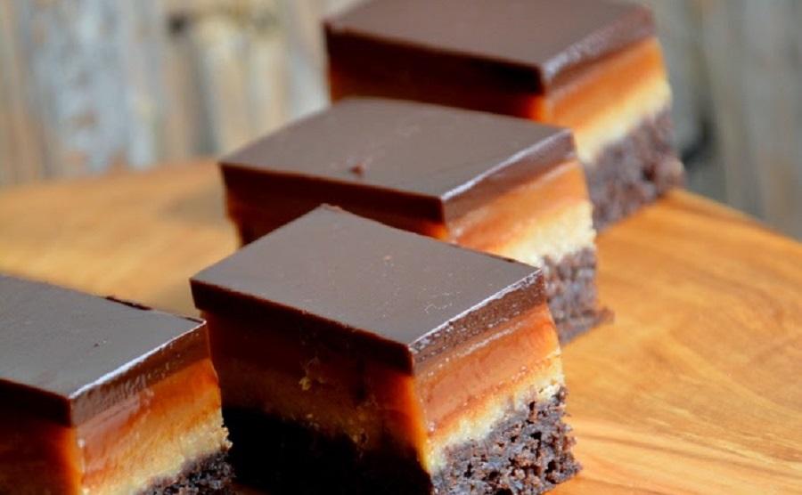 Торт Twix с карамелью