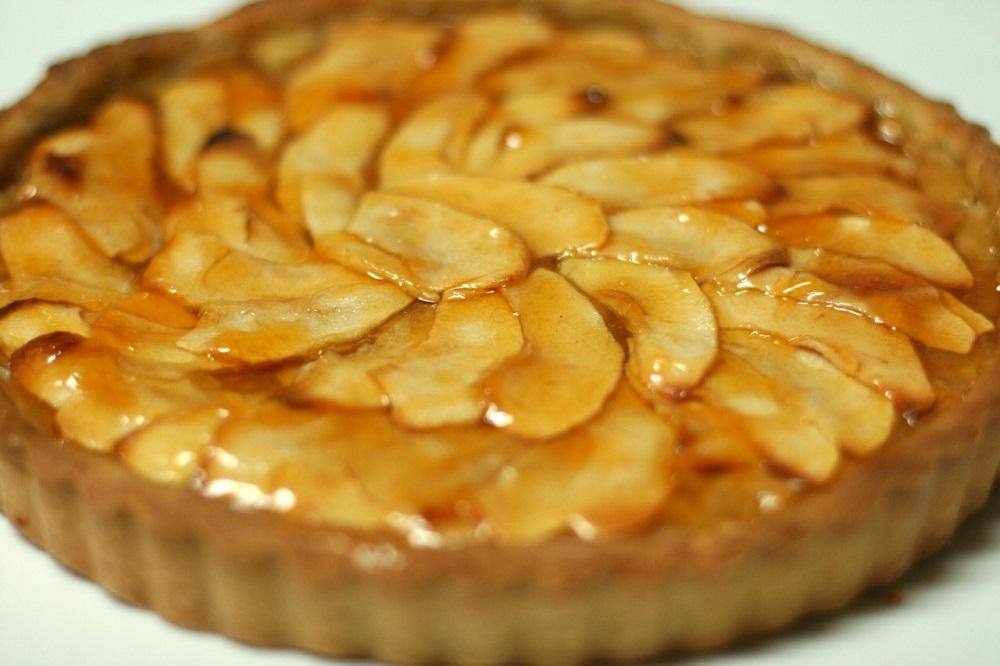 Тарт — французский яблочный пирог от Мишеля Ру (Michel Roux)