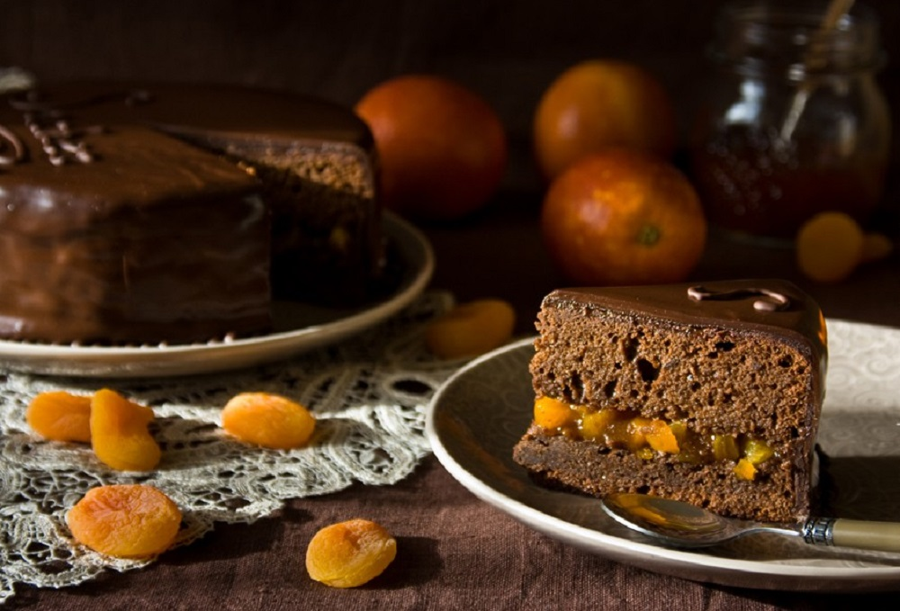 Венский торт Захер от Пьера Эрме
