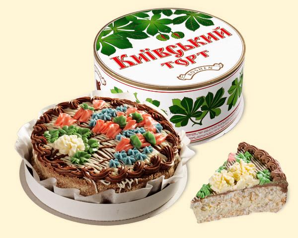 киевский торт по Госту от Рошен