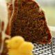 Кекс с марципаном, сладкая выпечка на Пасху