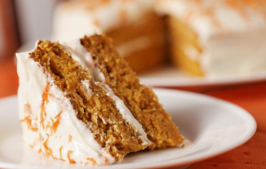 Морковный пирог, настоящий рецепт