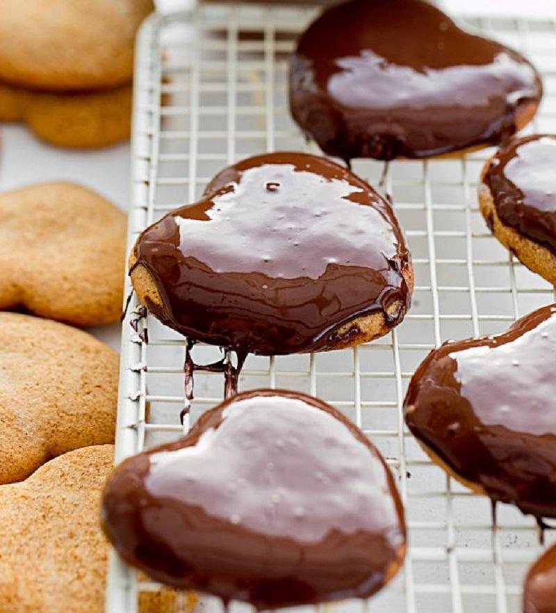 Медовые пряники в шоколаде в домашних условиях