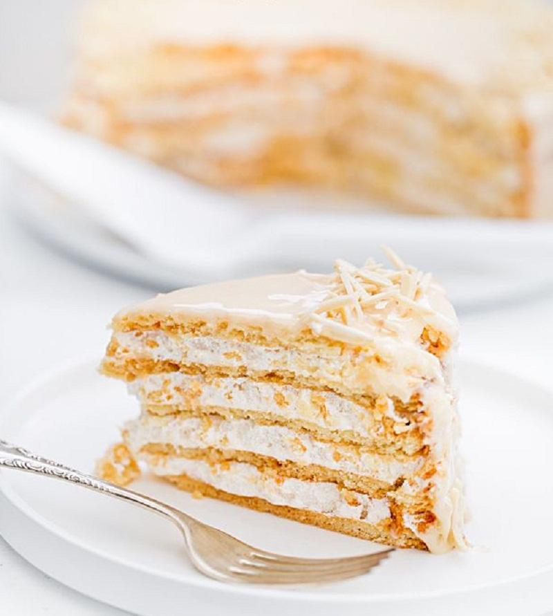 Песочный торт для Пасхи