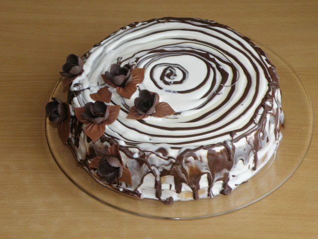 Простой торт Трухлявый пень