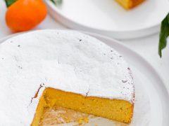 Новый торт: цитрусовый бисквит из клементин