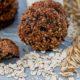 Диетический десерт: овсяное печенье из непросеянной муки с черносливом