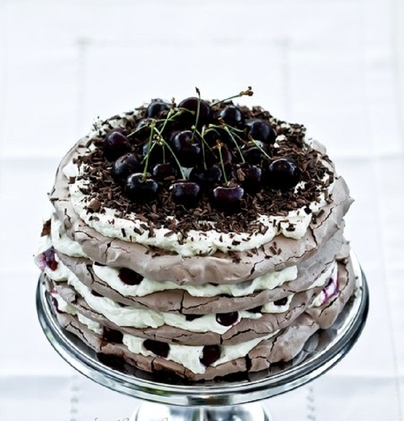 Торт Черный лес — немецкий торт Шварцвальд