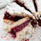 Пирог с вишней из песочного теста «Вишневый рай»