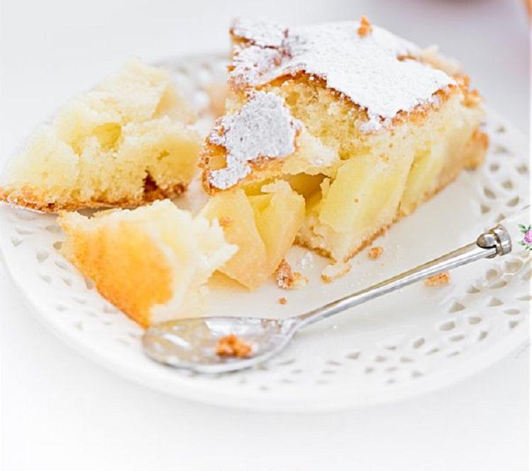 Шарлотка с грушами рецепт по-французски