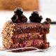 Венгерский шоколадный торт с вишнями