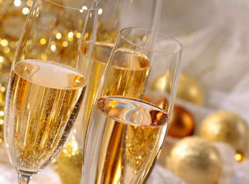 Бисквит на шампанском