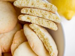 Лимонное песочное печенье самый простой рецепт