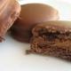 Простой рецепт печенья в шоколаде и кремом из вареной сгущенки
