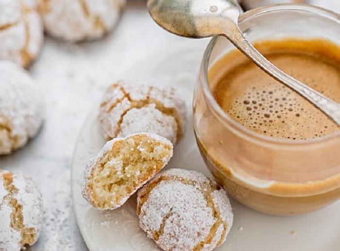 Простой рецепт песочного печенья с миндалем