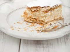 Рецепт классического заварного крема для Наполеона