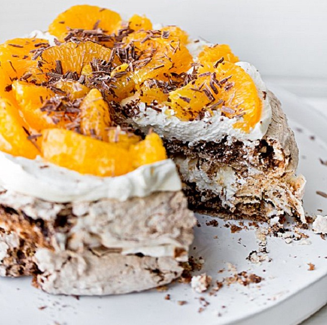 торт шоколадное безе