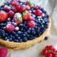 Тарт с лесными ягодами