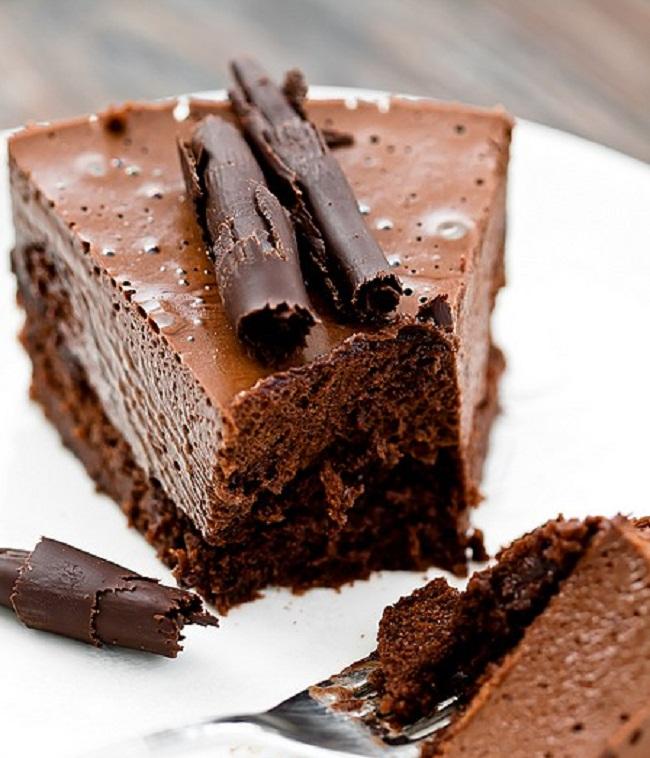 Двойной шоколадный муссовый торт