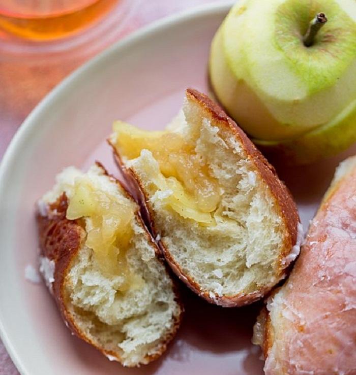Пончики с яблоками лучший рецепт