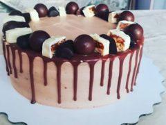 Торт «Марс» бисквитный в домашних условиях, пошаговый рецепт