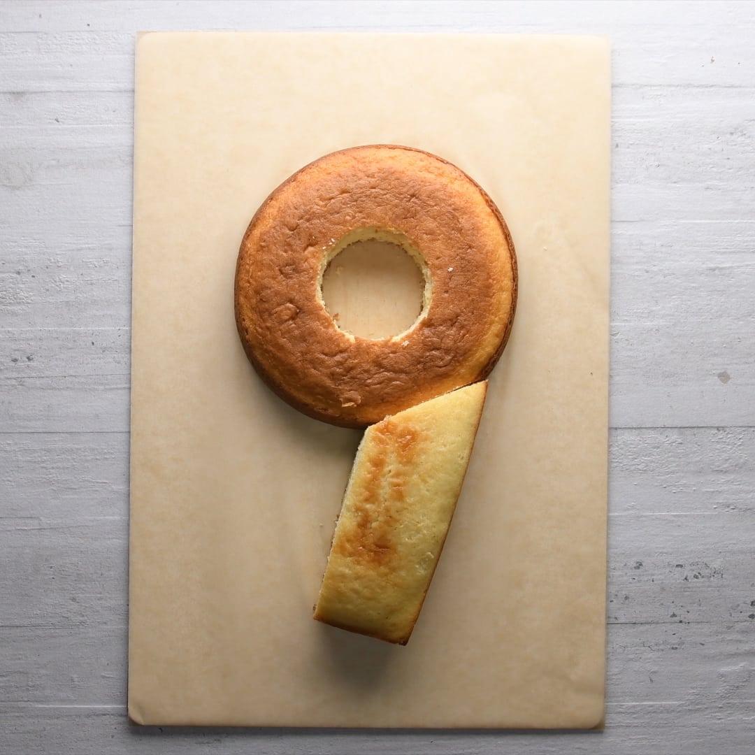 Торт цифра: как вырезать любую цифру из коржей для домашнего торта