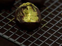 Конфеты трюфели с зелёным чаем Матча