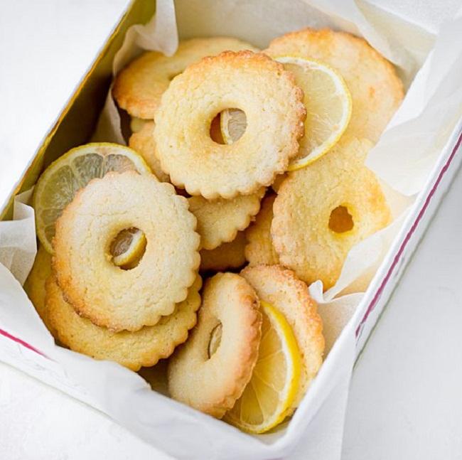 Домашнее лимонное печенье на каждый день