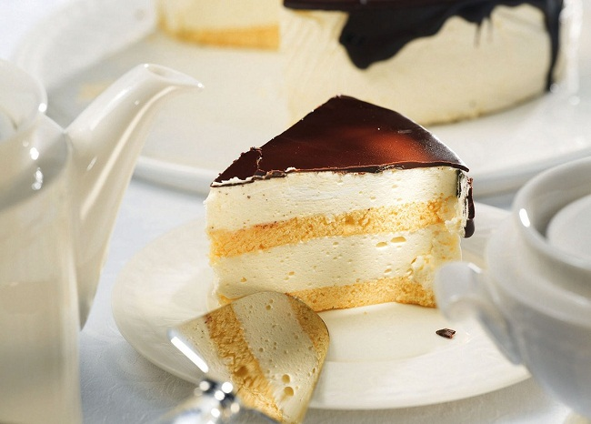 Торт «Птичье молоко» по ГОСТу с агар-агаром