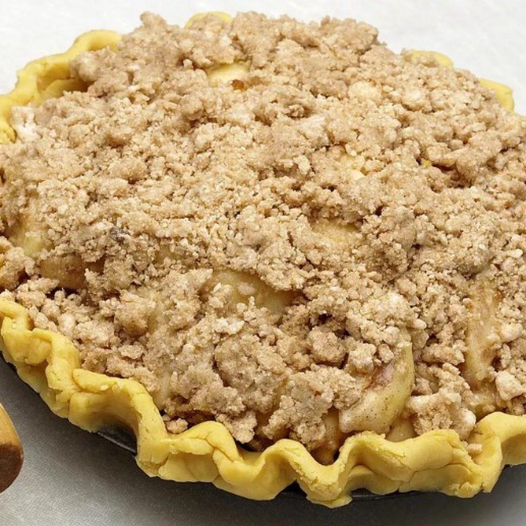 Тертый песочный пирог — пошаговый фото рецепт