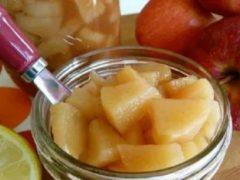 Яблочная начинка для пирогов