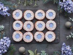 Линцерское печенье (Linzer Cookie) — простое песочное печенье