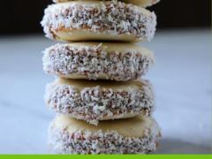 Рассыпчатое, очень нежное печенье Альфахорес (Alfajores) — рецепт с вареной сгущенкой
