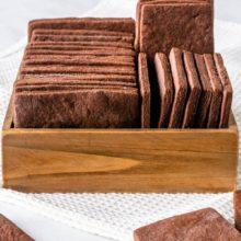 Самое простое шоколадно-сахарное печенье — рецепт песочного шоколадного печенья в домашних условиях