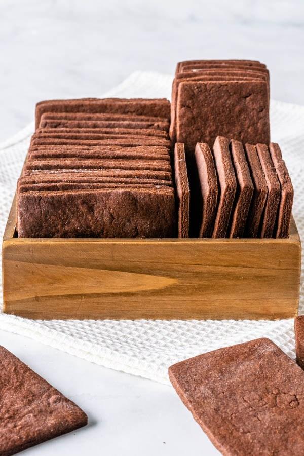 самый простой рецепт шоколадного хрустящего печенья